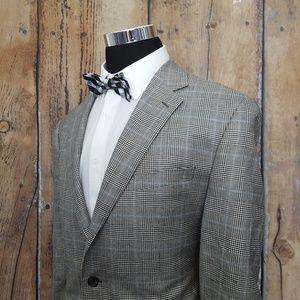 Ralph Lauren Sport Coat Mens 46R Silk Blend Tan